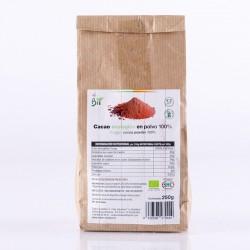 Cacao en Polvo Ecológico Chocolate Artesano Ecológico SABOR ANDALUZ