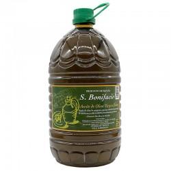 Aceite de Oliva Virgen Extra SAN BONIFACIO Garrafa 5 l.(varios formatos)