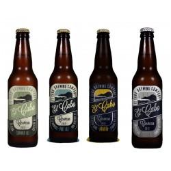 "Cerveza Artesana El CABO (Pack Surtido ""ALE"" 12 uds.)"