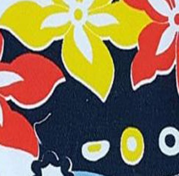 Estampado flores tropical