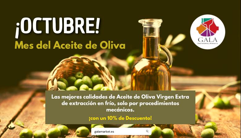 OCTUBRE MES DEL ACEITE DE OLIVA